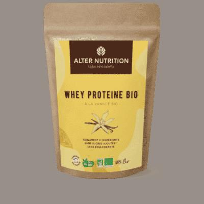 Whey Protéine en poudre Bio VANILLE