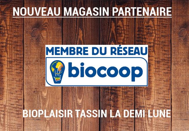 retrouvez nos produits au Biocoop de Tassin