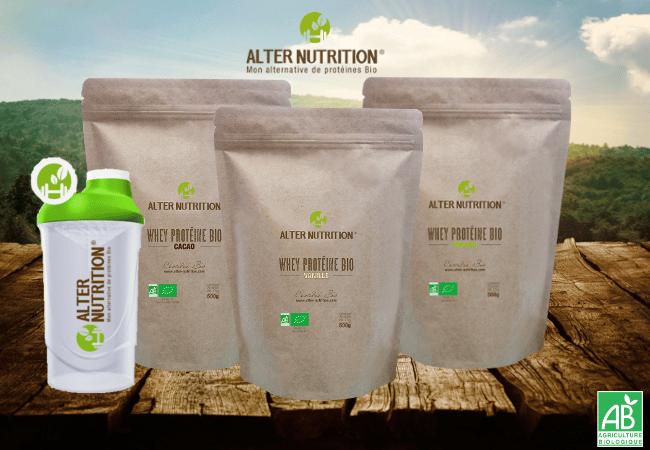 gammes alter nutrition whey bio