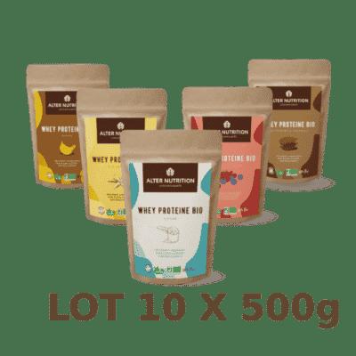 Whey Protéine BIO 10x500g