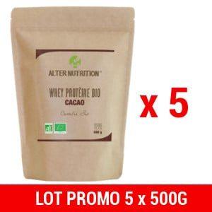 acheter whey proteine bio 5x500g