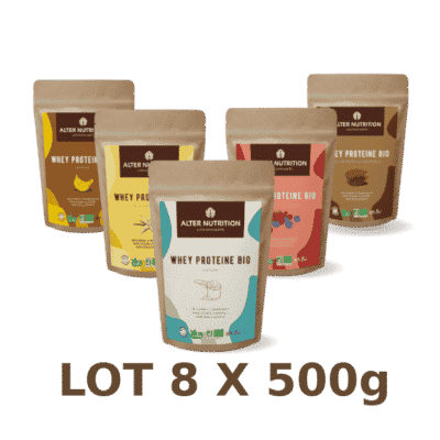 Whey Protéine BIO 8x500g