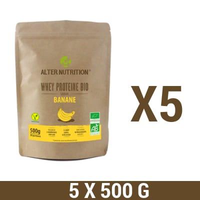 whey proteine bio 5x500g