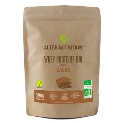 whey proteine bio cacao