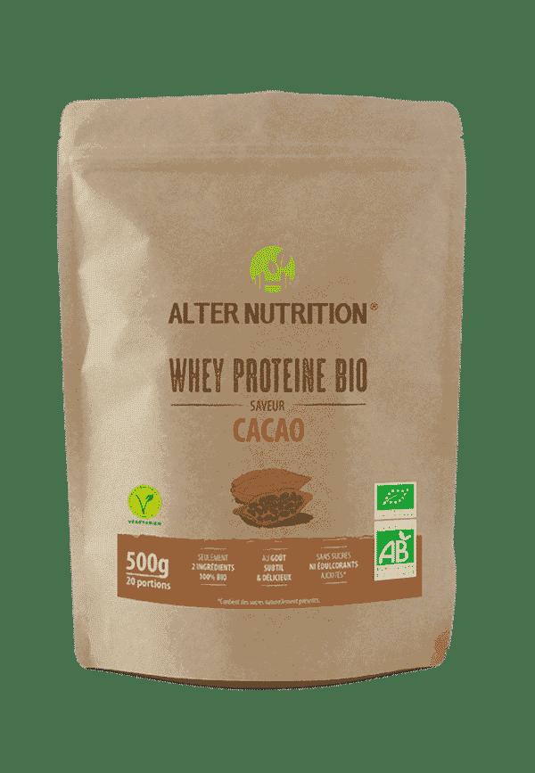 whey proteine bio cacao 500g