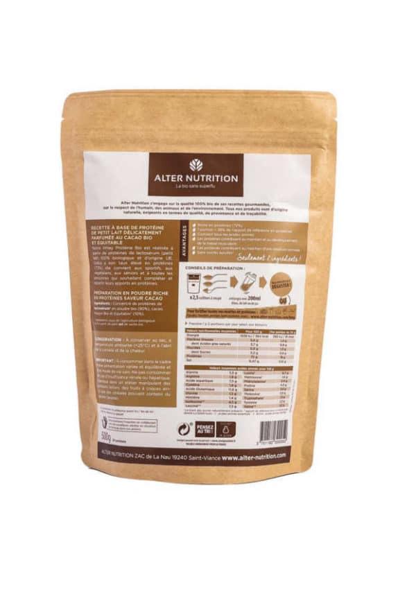 whey proteine bio cacao 500g v