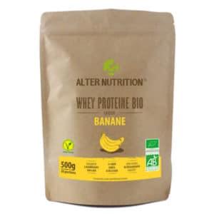 proteine whey bio banane 300