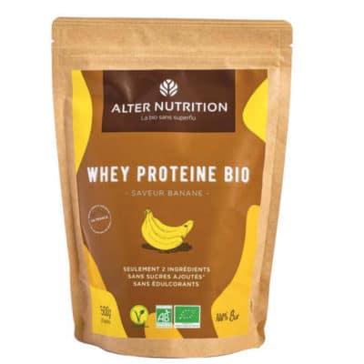 proteine whey bio banane r