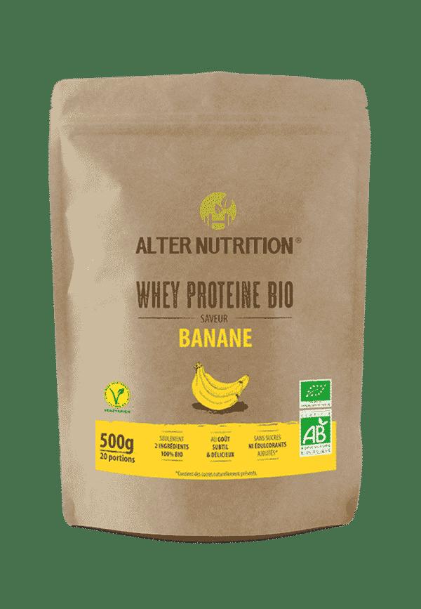 proteine whey bio banane recto