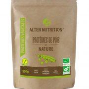 proteines de pois bio 500g