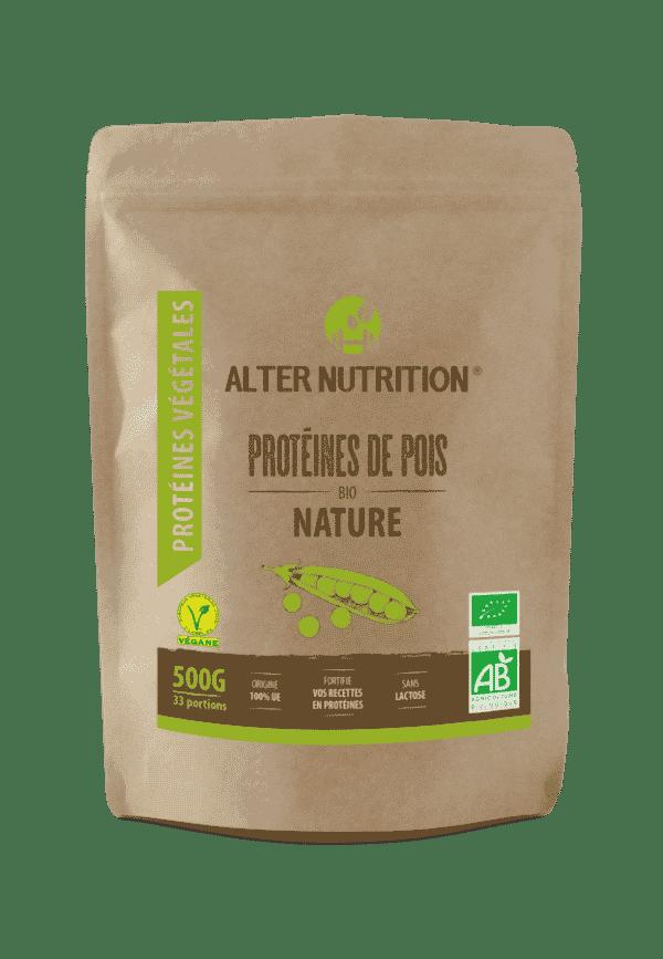 proteines de pois bio alter nutrition
