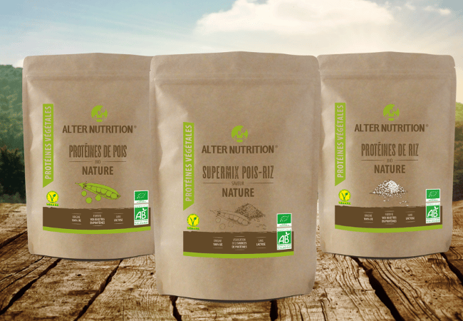 nouvelle gamme de proteines vegetales