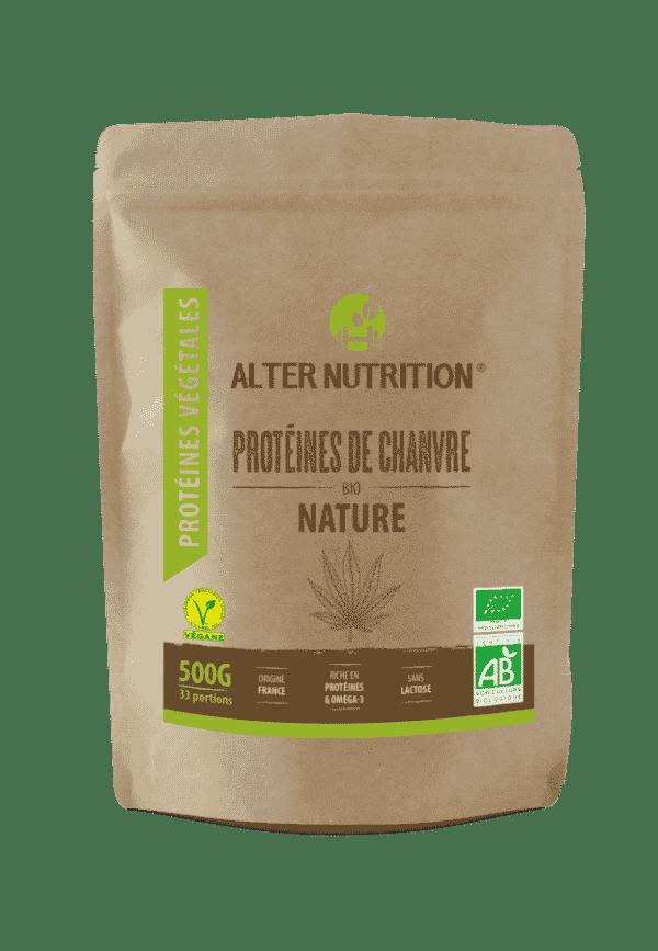 proteines de chanvre bio alter nutrition recto