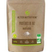 proteines de riz bio 500g