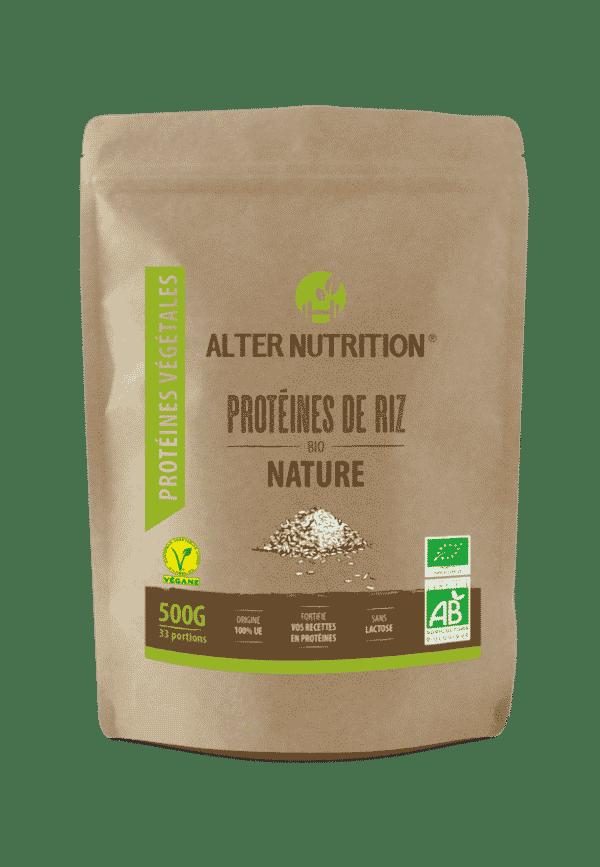 proteines de riz bio alter nutrition