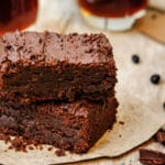 brownie au chocolat vegan à la protéine de riz Bio