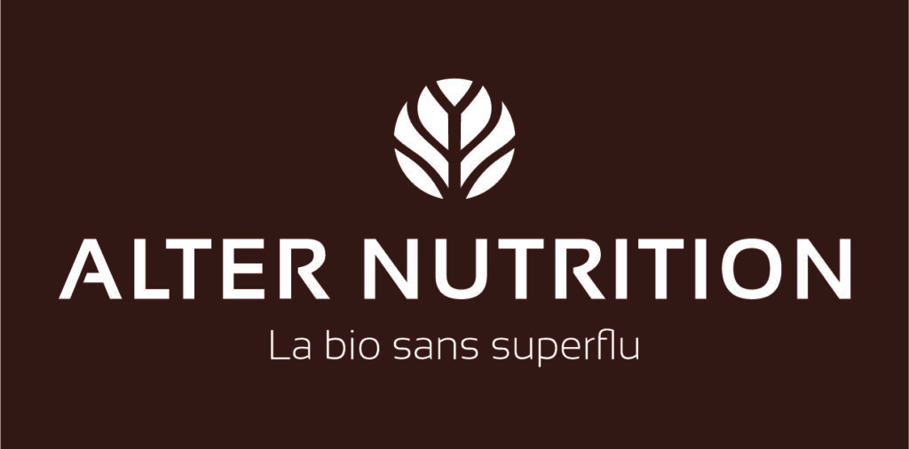nouveau logo alter nutrition la bio sans superflu