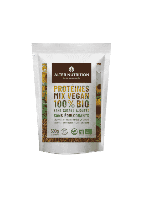 proteines mix vegan bio recto