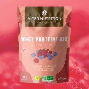 découvrez notre nouvelle saveur de whey protéine bio