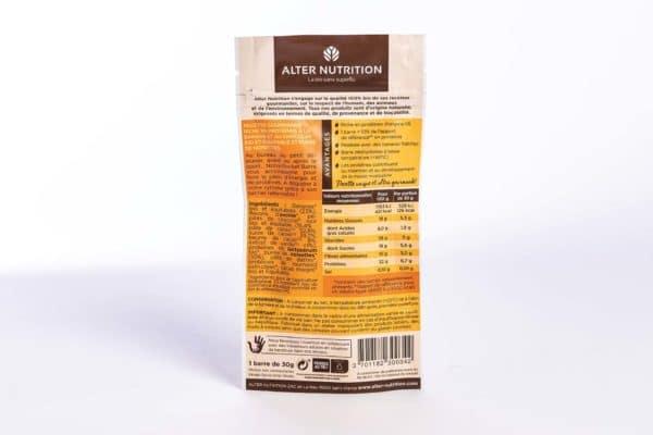 barre protéinée chocolat bio