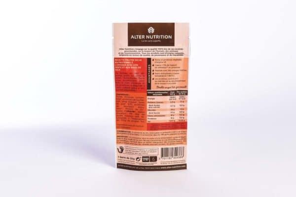 barre hyper protéinée bio orange goji