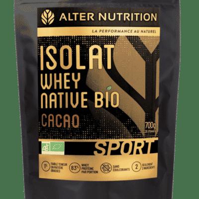 isolat whey native bio cacao