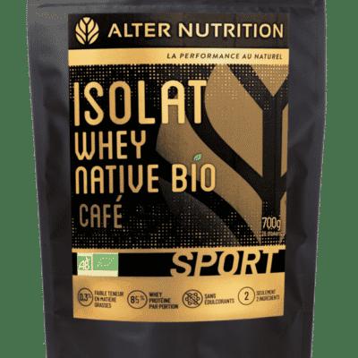 isolat whey native bio cafe