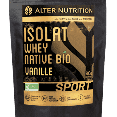 isolat whey native bio vanille