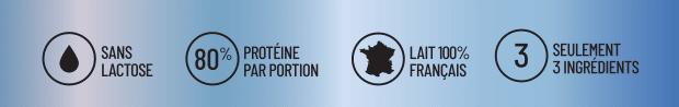 points forts proteine native bio sans lactose