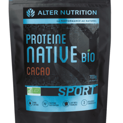 proteine native bio sans lactose cacao