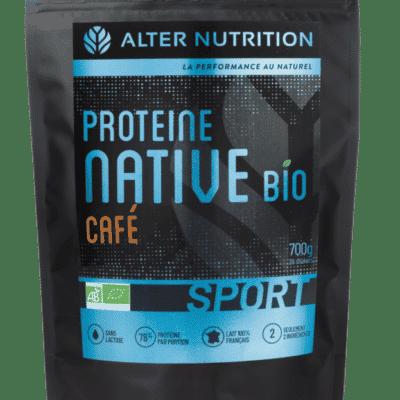 proteine native bio sans lactose cafe