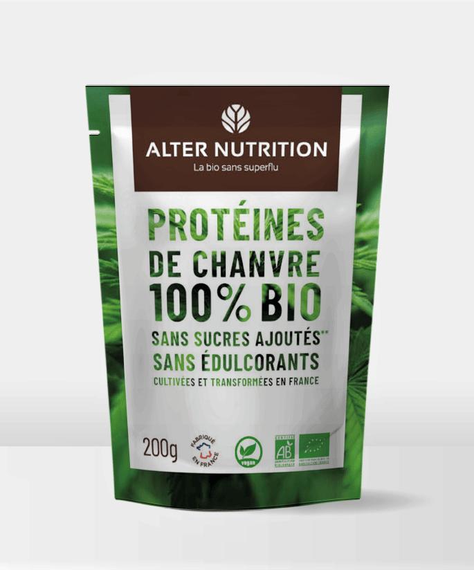 Protéines de chanvre 100% bio