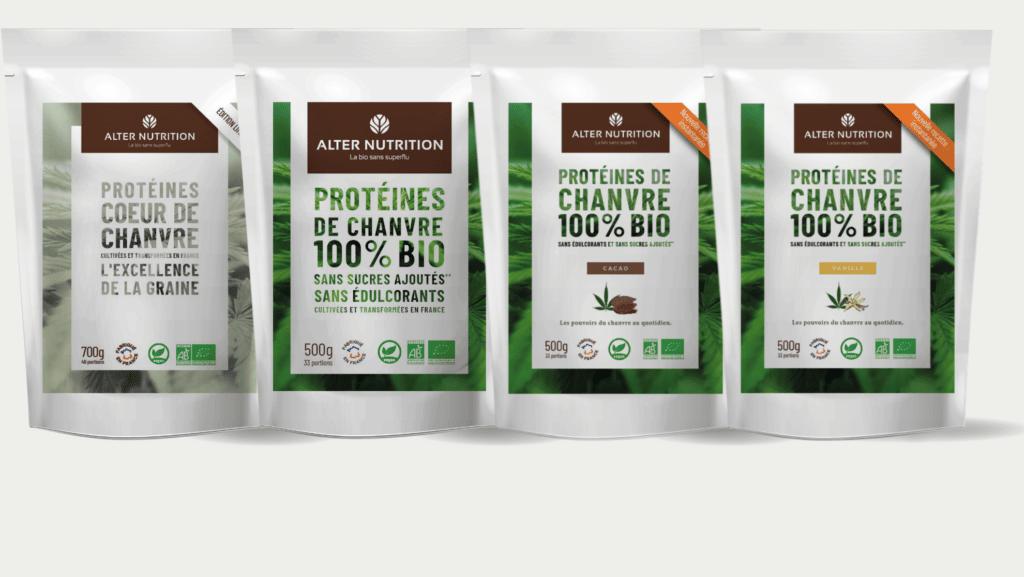 Protéines de chanvre bio
