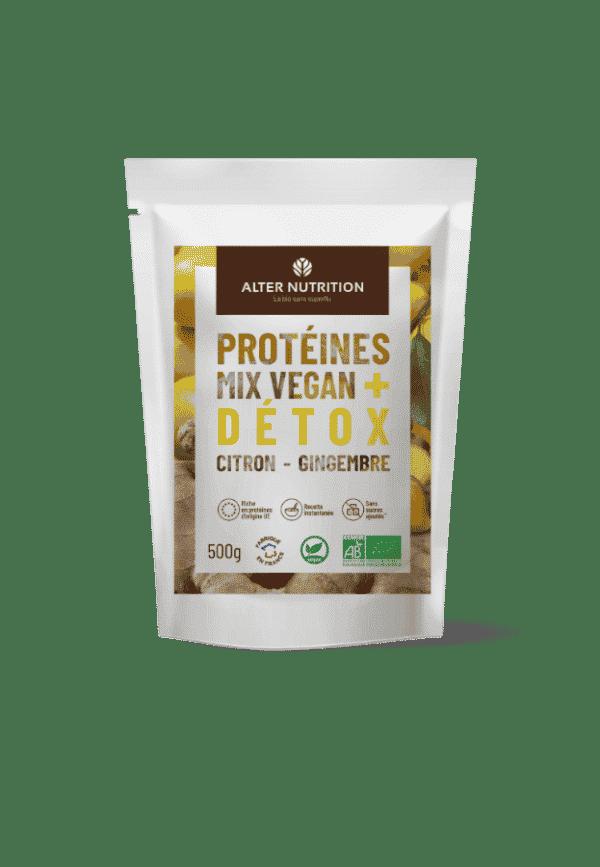 proteine mix vegan bio detox recto
